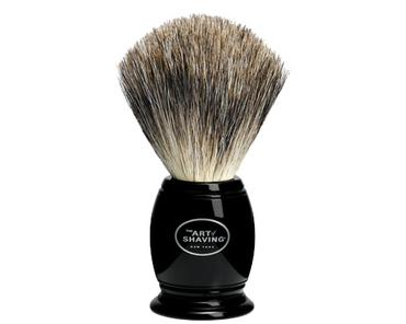 Pure Badger Brush - Black | The Art of Shaving | b-glowing