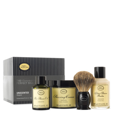 Full Size 4 Elements Kit - Unscented | The Art of Shaving | b-glowing