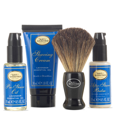 The 4 Elements Starter Mini Kit - Lavender | The Art of Shaving | b-glowing