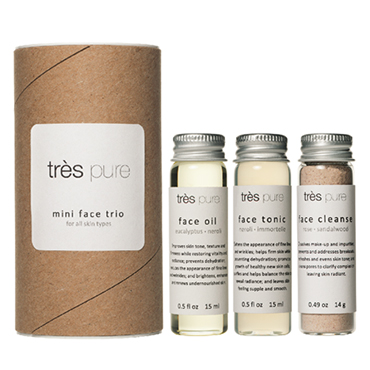 Mini Face Trio | Très Pure | b-glowing