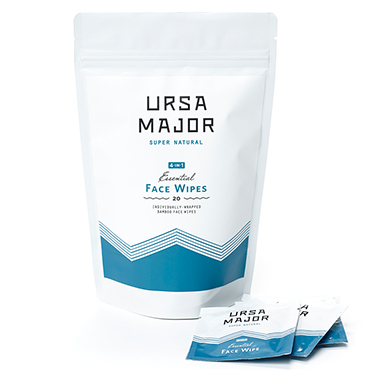 Essential Face Wipes - 20 Pack | Ursa Major | b-glowing