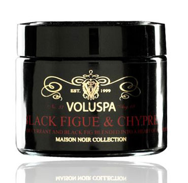 Maison Noir Petite Jar Maison Candle - Black Figue & Chypre | Voluspa | b-glowing