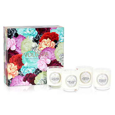 Maison Jardin Votive Gift Set | Voluspa | b-glowing