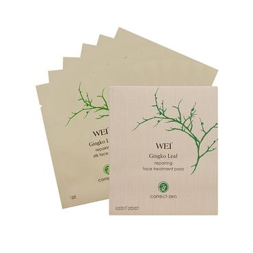 Gingko Leaf Repairing Face Treatment Pads