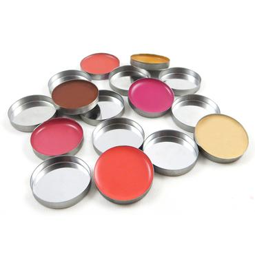 Round Metal Pans - 10 Pack | Z Palette | b-glowing