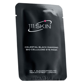 Celestial Black Diamond Bio Cellulose Eye Mask | 111SKIN | b-glowing