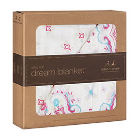 Silky Soft Dream Blanket | aden + anais | b-glowing