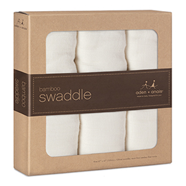 Bamboo Swaddle 3 Pack | aden + anais | b-glowing