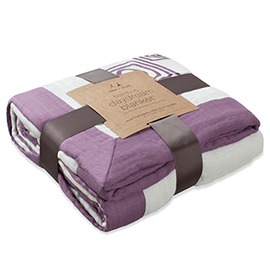 Adult Bamboo Daydream Blanket - Purely Plum