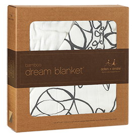 Bamboo Dream Blanket - Moonlight Leafy
