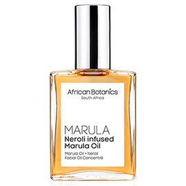 Neroli Infused Marula Oil | African Botanics | b-glowing