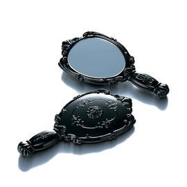 Hand Mirror with Velvet Bag