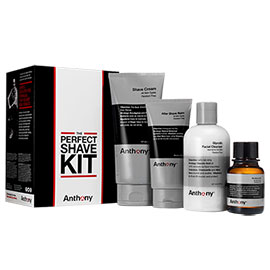 The Perfect Shave Kit | Anthony | b-glowing