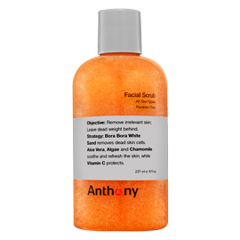 Facial Scrub 8 oz | Anthony | b-glowing
