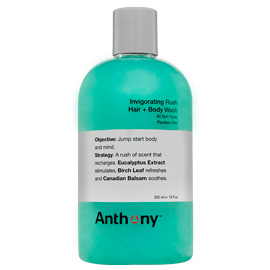 Anthony Invigorating Rush Hair + Body Wash | Anthony | b-glowing