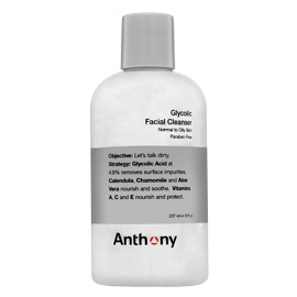 Anthony Logistics Glycolic Facial Cleanser