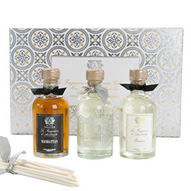 Home Ambiance Diffuser Trio | Antica Farmacista | b-glowing