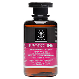 Propoline Tonic Shampoo for Thinning Hair, For Women | Apivita | b-glowing