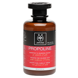 Propoline Shampoo for Colored Hair | Apivita | b-glowing