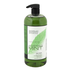 Morning Mint Body Wash | Archipelago | b-glowing