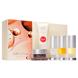 Basic Five Travel Kit - Oily Skin | ARCONA | b-glowing
