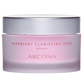 Raspberry Clarifying Pads | ARCONA | b-glowing