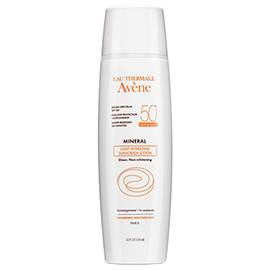 Mineral Light Hydrating Sunscreen Lotion SPF 50+ | Avene | b-glowing