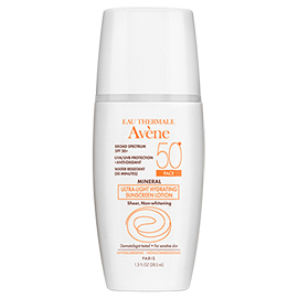 Mineral Ultra-light Hydrating Sunscreen Lotion SPF 50+ | Avene | b-glowing