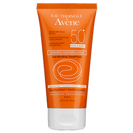 Hydrating Sunscreen Lotion SPF 50+ | Avene  | b-glowing