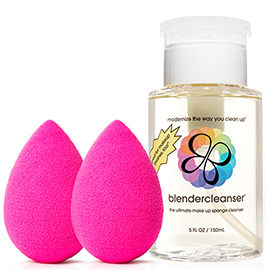 Beautyblender Double + Cleanser Kit