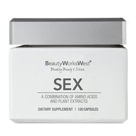 Sex Supplement- 120 Capsules | Beauty Works West | b-glowing