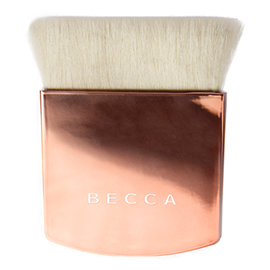 The One Perfecting Brush - Limited Edition Blushed Copper Handle | BECCA Cosmetics | b-glowing