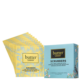 Scrubbers 2-in-1 Prep and Remover Wipes | butter LONDON | b-glowing