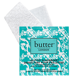 Glitter Scrubbers Textured Remover Wipes | butter LONDON | b-glowing