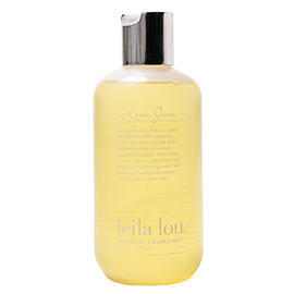 Leila Lou Soothing Shower Gel and Bubble Bath | By Rosie Jane | b-glowing