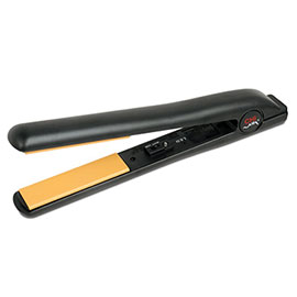 Black Tourmaline Ceramic Hairstyling Iron 1""
