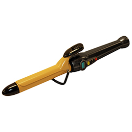 Onyx Black Tourmaline Ceramic Curling Iron 1""