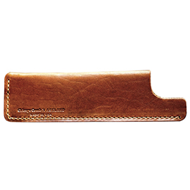 Tan Leather Sheath | Chicago Comb | b-glowing
