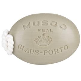 Musgo Real Men's Soap On A Rope Classic Scent | Claus Porto | b-glowing