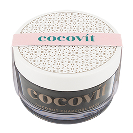 Coconut Charcoal Face Mask | Cocovit | b-glowing