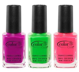 Neon Nail Polishes | Color Club | b-glowing