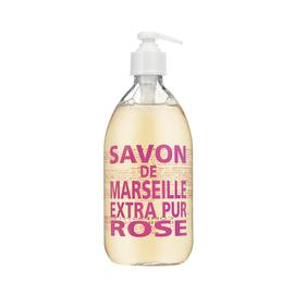 Wild Rose Liquid Marseille Hand Soap | Compagnie de Provence | b-glowing