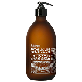 Incense Lavender Liquid Marseille Hand Soap