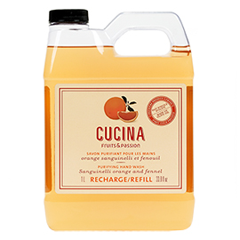 Purifying Hand Soap Refill - Sanguinelli Orange & Fennel