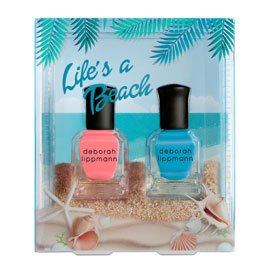 Life's A Beach Set | Deborah Lippmann | b-glowing