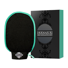 Deep Exfoliating Mitt | Dermasuri | b-glowing