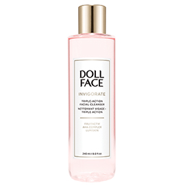 Invigorate Triple-Action Facial Cleanser | Doll Face Beauty | b-glowing