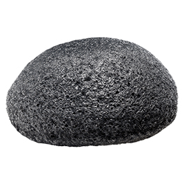 Pretty Puff Bamboo Charcoal Konjac Sponge | Doll Face Beauty | b-glowing