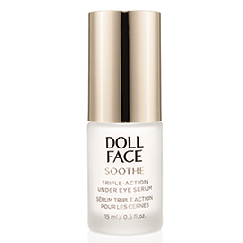 Soothe Undereye Puffiness Serum | Doll Face Beauty | b-glowing