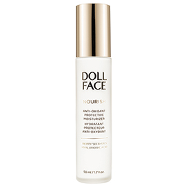 Nourish Anti-Oxidant Protective Moisturizer | Doll Face Beauty | b-glowing